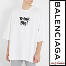 【国内発送】Balenciaga Tシャツ Logo-print cotton T-shirt