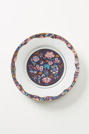 Anthropologie 食器(皿) 最終SALE☆ラス1即納【Liberty×Anthro】Mabelle Floral 4点Set(3)