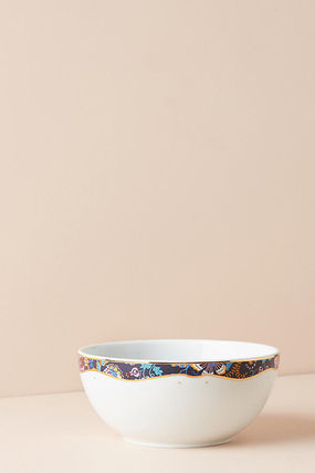 Anthropologie 食器(皿) 最終SALE☆ラス1即納【Liberty×Anthro】Mabelle Floral 4点Set(4)