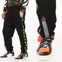OFF WHITE Sweatpants With Side Tape
