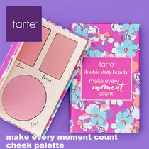 【tarte】新作・make every moment count cheek palette チーク