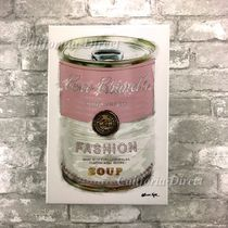 Oliver Gal 特大 76x114cm Fashion Soup Pink キャンバス