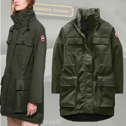 CANADA GOOSE ジャケット 未入荷新作 CANADA GOOSE ☆ Lakeshore Jacket Dark Sage/Black ...