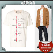 18SS/送料込≪GUCCI≫ GUCCIFICATION プリント Tシャツ