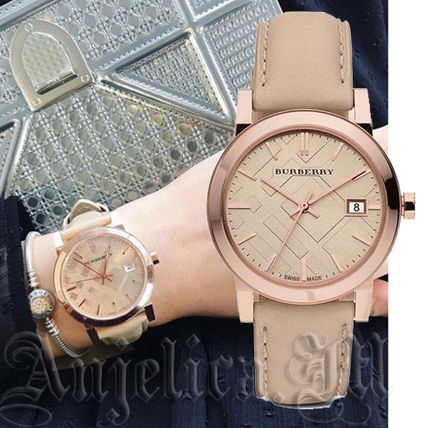 ★安心ヤマト便★Burberry Rose Gold Stainless Steel BU9109