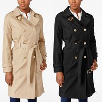 【国内発送】MICHAEL Michael Kors Double-Breasted Trench Coat