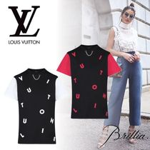 Louis Vuitton ルイヴィトン LETTRES BRODEES Tシャツ