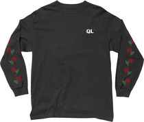 THE QUIET LIFE(クワイエットライフ) Tシャツ・カットソー The Quiet Life Rose Long Sleeve Tee -ブラック