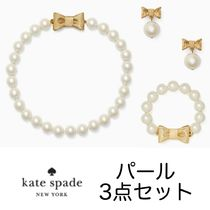 SALE!! KATE SPADE パール&リボン♡3点セット 即発