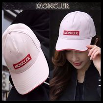 【MONCLER モンクレール】18SS ロゴパッチ キャップ PINK/追跡付