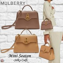 Mulberry☆Mini Seaton-Silky Calf- シルキーカーフレザー