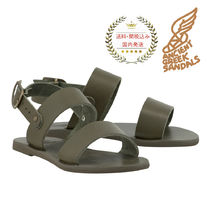 ANCIENT GREEK SANDALS(アンシェントグリーク) キッズサンダル アンシェント キッズサンダル Little Clio 緑☆送料/関税込