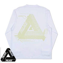 送料込 PALACE SKATEBOARD SURKIT LOGO Long Sleeve Tee Shirt