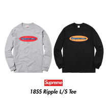 18SS RIPPLE Long Sleeve Tee Shirt  LOGO シュプリーム