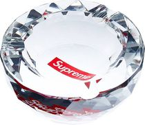 13A/W   Supreme Diamond Cut Crystal Ashtray 灰皿
