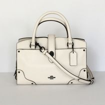 【COACH】即発・人気☆ Mercer Satchel 24 2way F37779☆Chalk