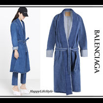 希少◇デニム Robe Coat◇BALENCIAGA