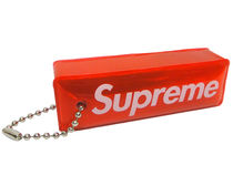 07A/W Supreme 3M Reflective Puffy Keychain Red キーチェン