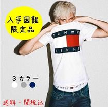 Tommy Hilfiger(トミーヒルフィガー) Tシャツ・カットソー 【入手困難 限定品】Tommy Jeans メンズ フラッグロゴTシャツ