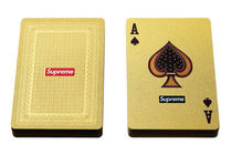 13A/W  Supreme Gold Card Deck トランプ カード