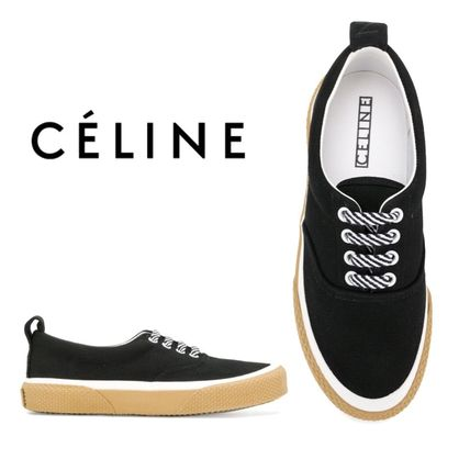 【18SS】大注目!!★CELINE★lace-up sneakers