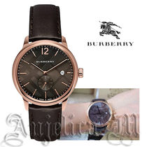 ★安心ヤマト★Burberry THE CITY Dark Brown Leather BU10012