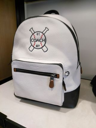 Coach(コーチ) WEST BACKPACK WITH BASEBALL