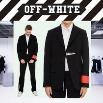【18SS NEW】 Off-White_men /ZIP OFF CLASSIC JACKET/