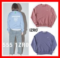 18SS☆人気【IZRO(イズロ)】☆ GREEN LABEL SWEATSHIRT☆UNISEX