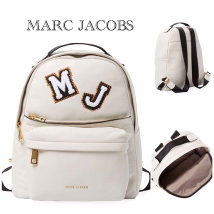 【Marc Jacobs】Patch Leather Backpack☆A4対応☆関送込