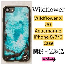 Wildflower x Urban Outfitters ★ アクアマリン iPhone ケース