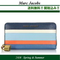 2018SS★関税込★MARC JACOBS レザー Continental 財布