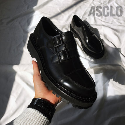 ASCLO シューズ・サンダルその他 ★韓国の人気★ASCLO★CLASSIC DOUBLE MONK STRAP DERBY★(20)