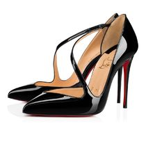 安心送料関税込! Christian Louboutin Jumping Patent 100 mm