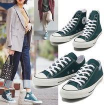 国内発★Converse ALL STAR 100 COLORS HI/OX 濃いグリーン