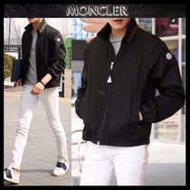 【MONCLER】18SS GOULIER ネックカラーロゴ ブルゾン BLACK/EMS