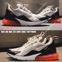 NIKE★AIR MAX 270★LIGHT BONE/HOT PUNCH