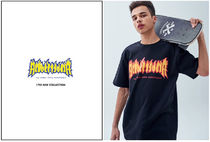 ACOVER(オコボ) Tシャツ・カットソー ★ACOVER★ DECALCOMANIA BURN PRINTING T-SHIRTS (4 color)