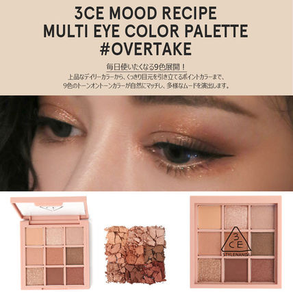 6c4b7821db 3 CONCEPT EYES アイメイク 3CE MOOD RECIPE MULTI EYE COLOR PALETTE #OVERTAKE ...