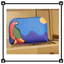 Tory Burch☆KERRINGTON PARROT オウム☆コスメポーチ 46161