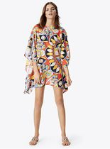 Tory Burch KALEIDOSCOPE BEACH CAFTAN