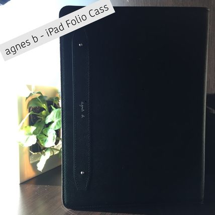 Agnes b / iPad Air/Air2/5/Pro9.7inch Case / 手帳型ケース