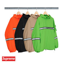 18SS Supreme Reflective Taping Hooded Pullover 送料込