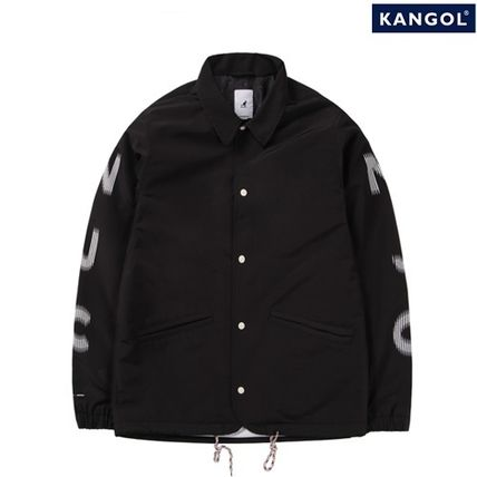 Kangol(カンゴール) NJC TEAM COACH JACKET 6104 BLACK