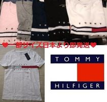 Tommy Hilfiger(トミーヒルフィガー) Tシャツ・カットソー ☆今から大活躍★大人気★完売必至!TOMMYトミー☆ロゴ Tシャツ