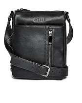 追尾/関税/送料込 GUESS TRE SIDE-ZIP CROSSBODY