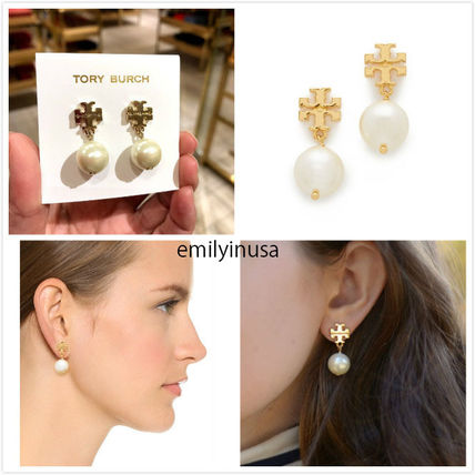 Tory Burch ピアス 即発 Tory Burch★Pearl Drop Earrings ピアス*とても上品