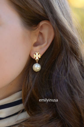 Tory Burch ピアス 即発 Tory Burch★Pearl Drop Earrings ピアス*とても上品(2)
