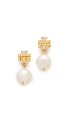 Tory Burch ピアス 即発 Tory Burch★Pearl Drop Earrings ピアス*とても上品(6)