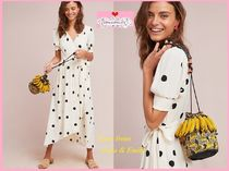 18SS☆最安値保証*関送込【Anthro】Breanna Polka Dot Wrap Dres